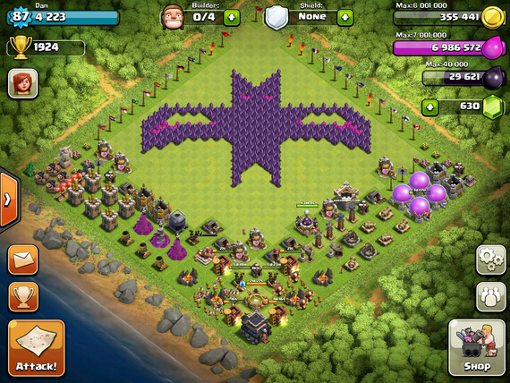 Town Hall 7 Formation Strategy Clash Of Clans Strategy Guide Best Free Gems Strategy Guides For You